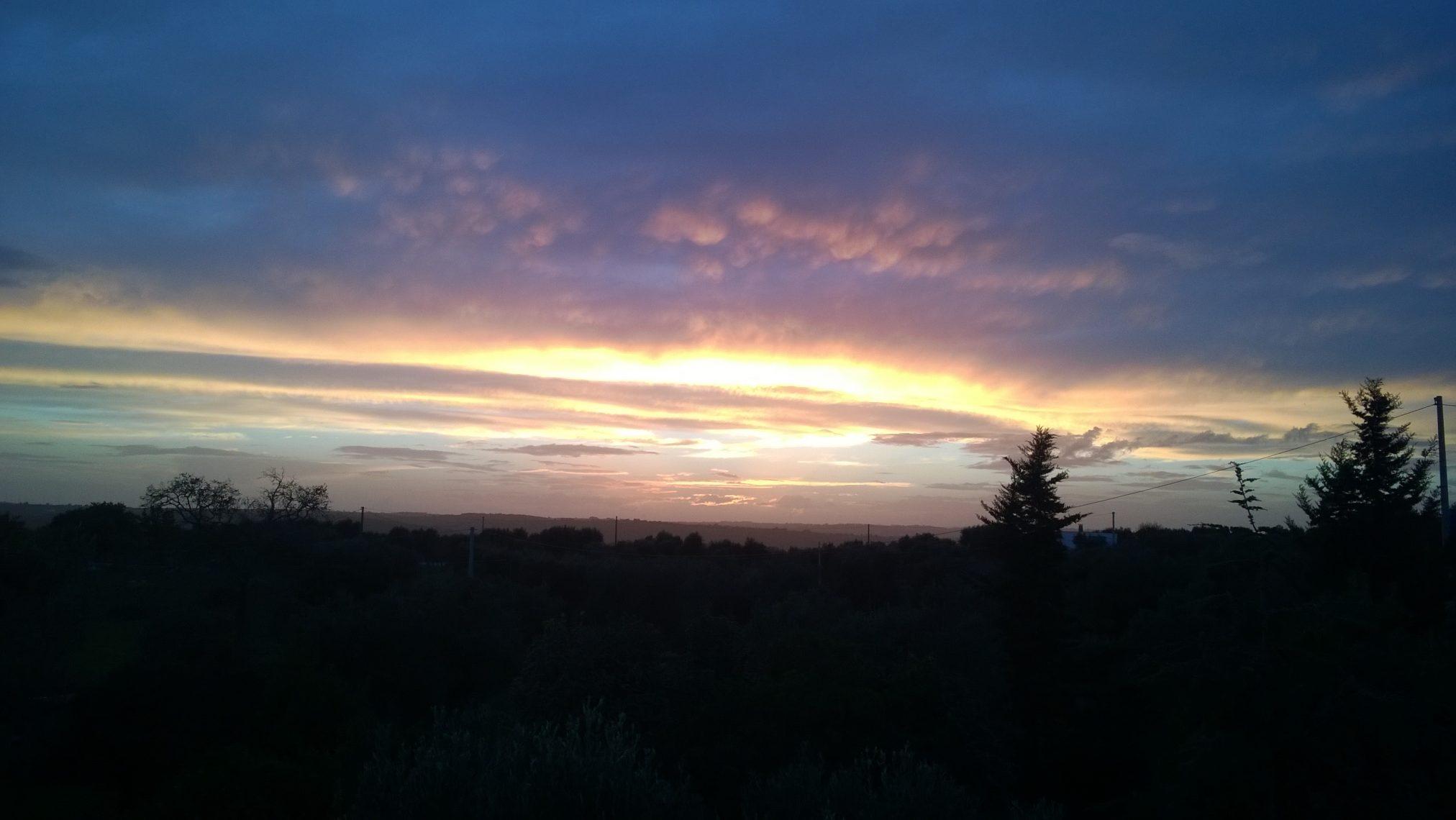 Trulli Eutopia - tramonto